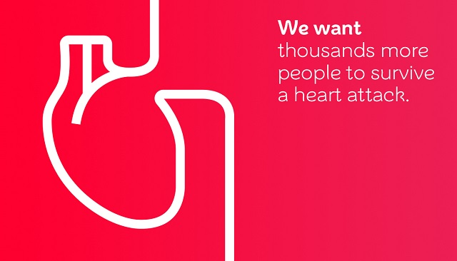 We want thousands more people to survive a heart attack